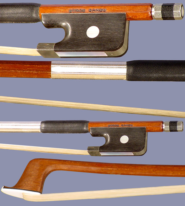 P1 Professional Rosewood Round 1/2 Cello Bow