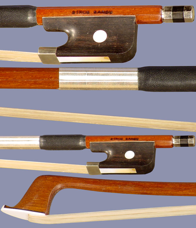 P2 Professional Rosewood Round 4/4 Cello Bow