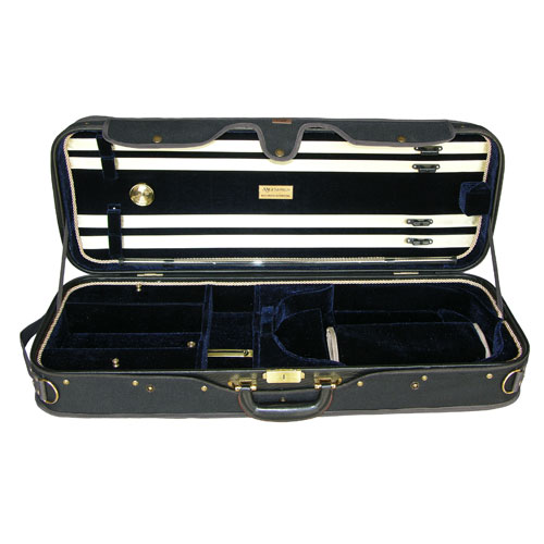 "Adjustable 15"" to 16.5"" A5A-120 Dark Blue/Black Viola Case"