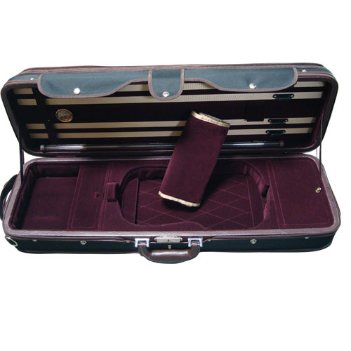 A5-150 Dark Burgundy/Black Case