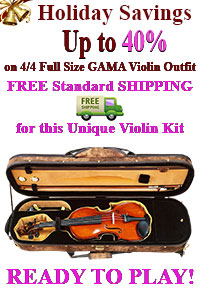 Save Up To 40% On This Gliga Gama Violin Kit