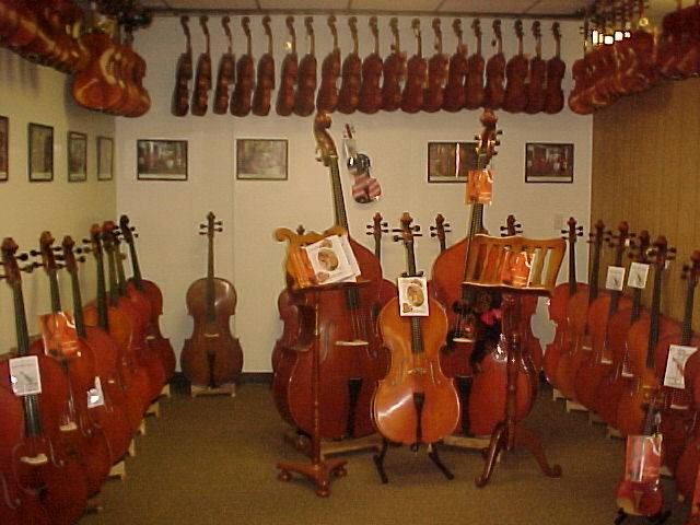 Art Picture of Pasadena California Music Store Violin Shop