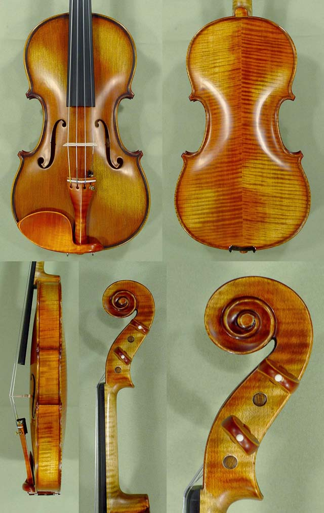 Antiqued 4/4 PROFESSIONAL 'GENOVA 2' Violin