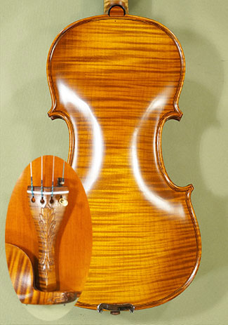 Antiqued 4/4 MASTER \'GENOVA 1\' One Piece Back Violin on sale