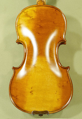 Antiqued 1/4 ADVANCED \'GENOVA 3\' Bird\'s Eye Maple One Piece Back Violin on sale