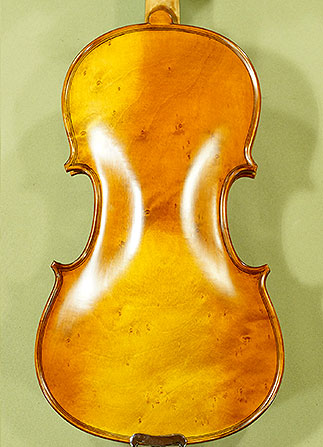 Antiqued 3/4 ADVANCED \'GENOVA 3\' Bird\'s Eye Maple One Piece Back Violin on sale
