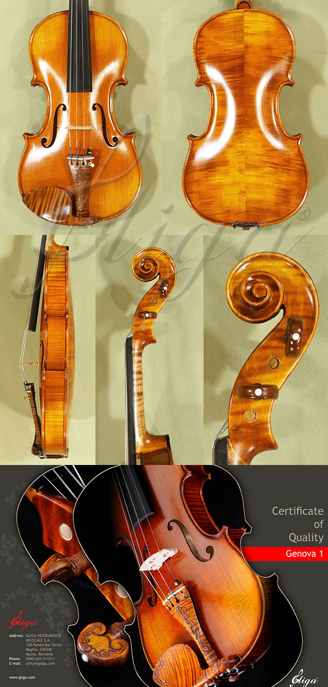 Antiqued 4/4 MASTER 'GENOVA 1' Violin