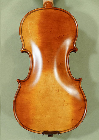 Antiqued 1/2 ADVANCED 'GENOVA 3' Bird's Eye Maple One Piece Back Violin on sale