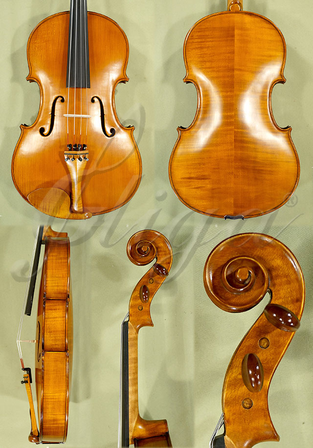"Antiqued 17.5"" Student 'GLORIA 1' Viola"